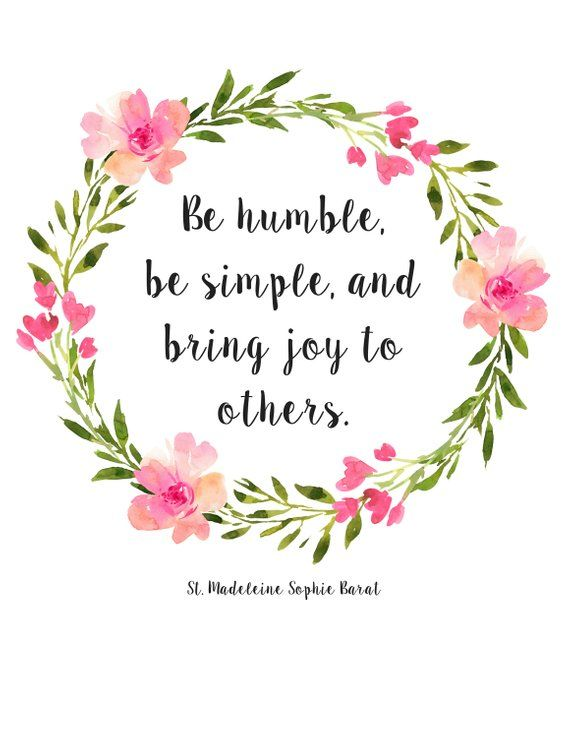 Printable St. Madeleine Sophie Barat Quote