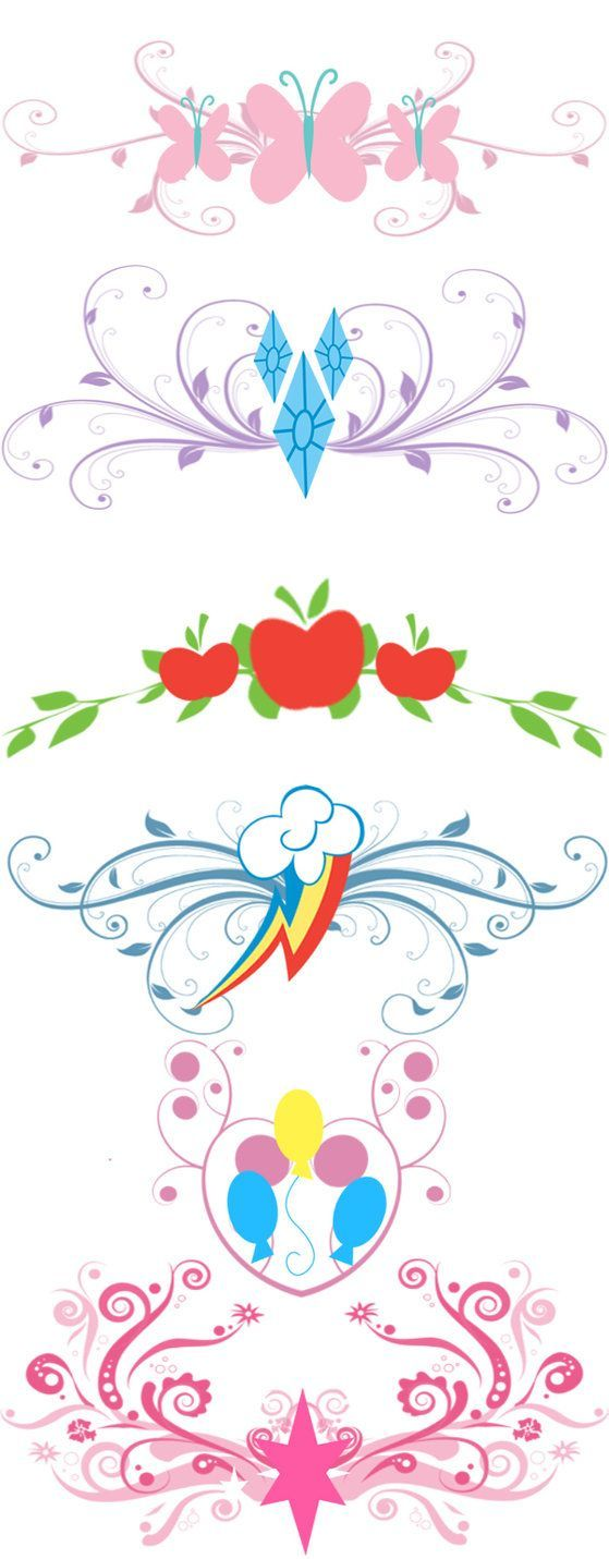 What their cutie marks should really be like.
