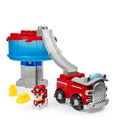 Love this Ionix PAW Patrol Tower & Marshall Toy Set on #zulily! #zulilyfinds
