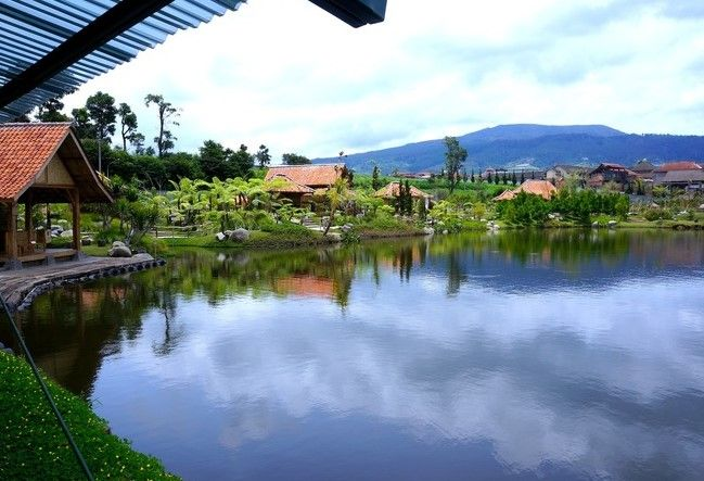 tempat wisata floating market bandung