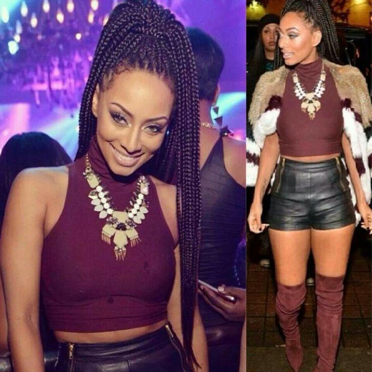 Janet braids on Keri h...