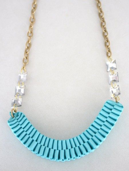 Make an Anthro-Inspired Accordion Necklace