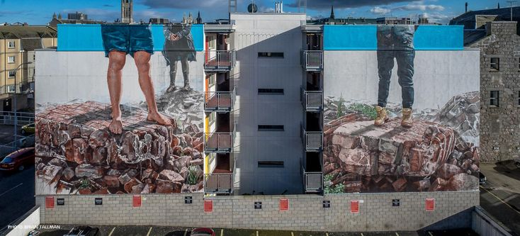 A preview of the Second Annual Nuart Aberdeen Street Art Festival - COLOSSAL