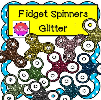 These cute glitter fidget spinners are perfect for your creative resources! Included: 10 Colored transparent background png files 1 Black and White with transparent background png file. All are saved at 300 dpi so are high quality. Commercial Use: You may use these clips in your