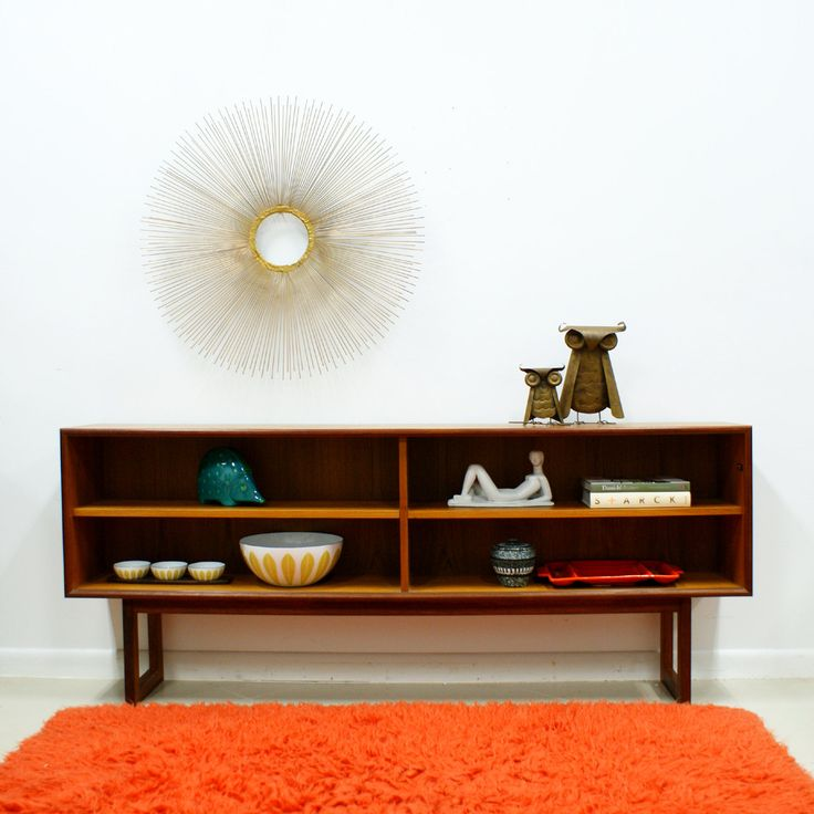 mid century modern bookcase denmark by artfurn