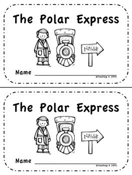 The Polar Express Emergent Reader Level A Pre A Printable With Touch Points is great for teaching concept of print