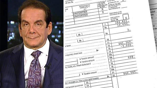 Charles Krauthammer said Friday on Special Report with Bret Baier that news that 800,00 HealthCare.gov customers received incorrect tax forms for filing their 2014 taxes and that the administration was also allowing for a special enrollment period next month, was utterly predictable.