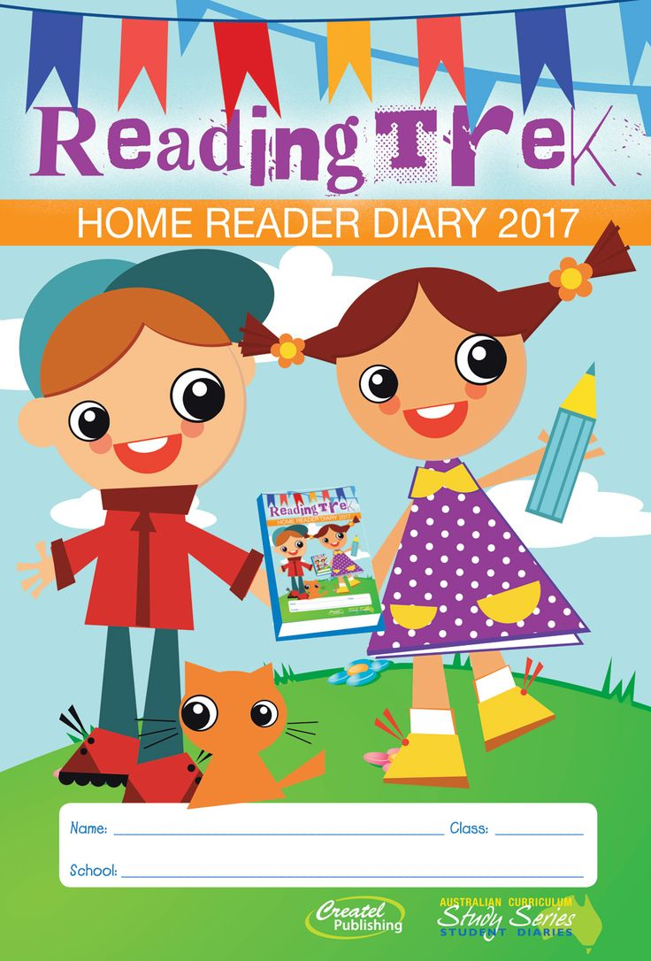 ReadingTrek is a popular home reading diary for recording student reading that complements the Australian Curriculum by reinforcing literacy and numeracy learning at home. The dated weekly layout helps parents and teachers communicate messages, reading, homework and after-school activities.