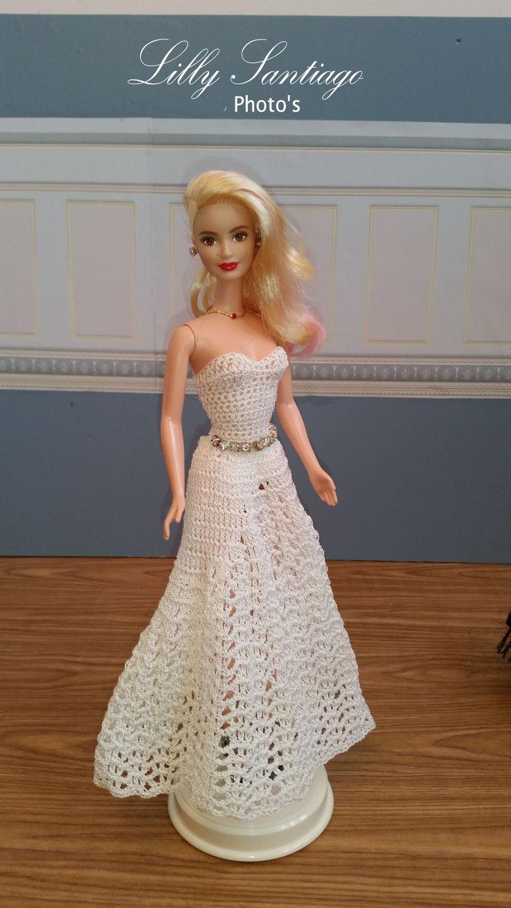 416 besten Barbie - flickr.com Bilder auf Pinterest | Häkelkleider ...