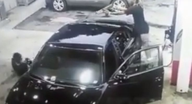 WATCH: Wild Shootout at Atlanta Gas Station Captured in Shocking Video