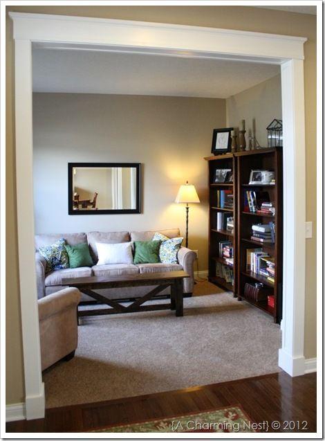 THE CHARMING NEST: DIY Door Casings…the easy way.
