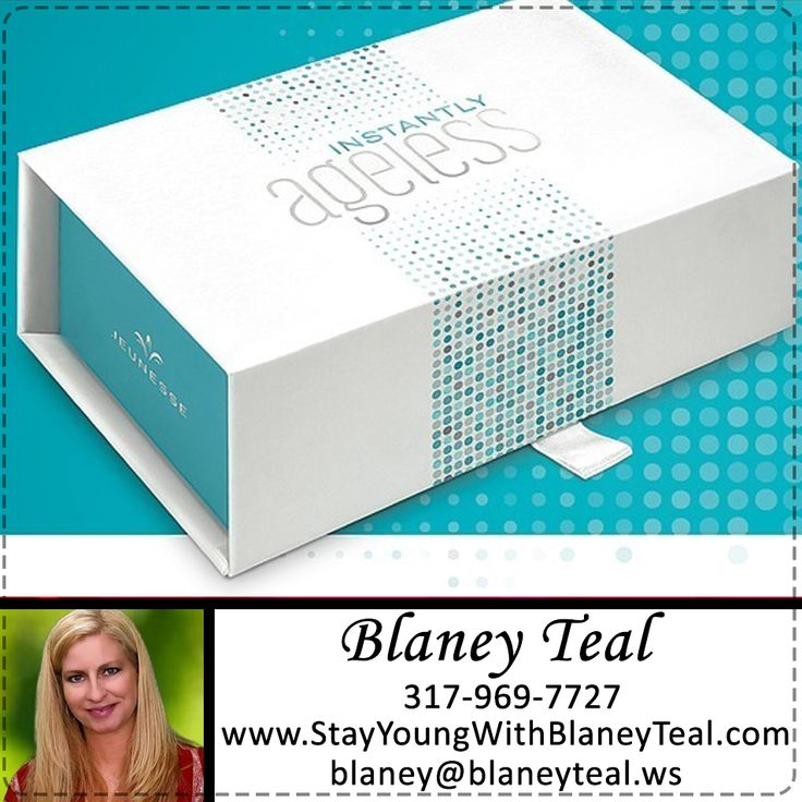 INSTANTLY AGELESS™ A powerful micro cream that leaves you looking younger in seconds.  TRY it now >>> http://www.stayyoungwithblaneyteal.com/