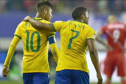 Neymar and Douglas Costa Is Expectation The Brazilian - soccer by Viscara