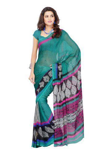 Branded Indian Women Sari Designer Wear Printed Green Fabdeal, http://www.amazon.de/dp/B00GMJQ21O/ref=cm_sw_r_pi_dp_R.9otb0W1EJKH