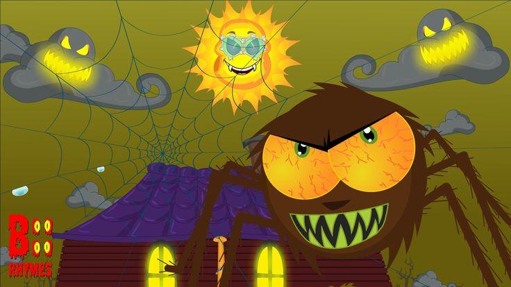 Incy Wincy Spider | Halloween Nursery Rhyme