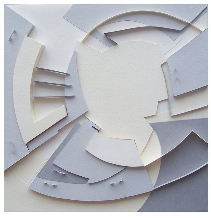 фронтальная композиция из бумаги - Поиск в Google