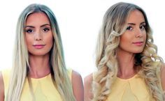 Anleitung: Bloggerin Tatjana Catic zeigt euch, wie man mit dem Glätteisen sanfte Locken in das Haar zaubert. Ein toller Beach-Look für den Sommer!