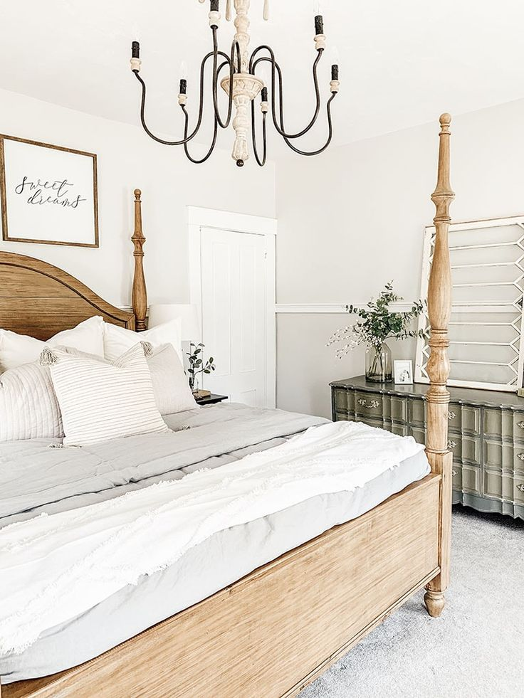 How to Style a Dresser Top Farmhouse style lighting