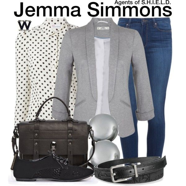 Inspired by Elizabeth Henstridge as Jemma Simmons on Agents of S.H.I.E.L.D.