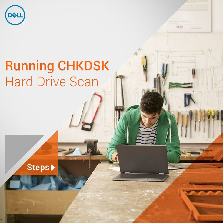 Running a #Chkdsk hard drive scan on your #Dell PC is a good preventative maintenance feature.   Find out how it helps and how to perform. #TechTips