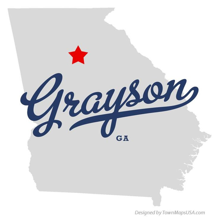 Grayson | Map of Grayson Georgia GA
