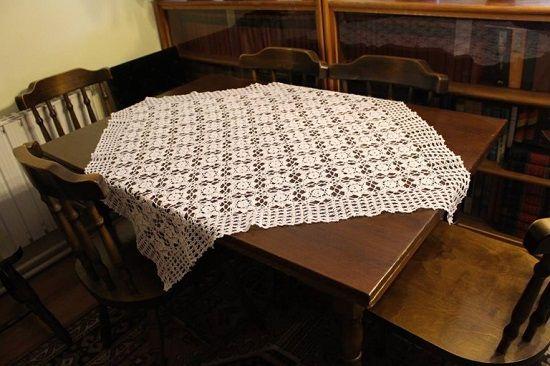 Horgolt asztalterítő - Kötés - Horgolás - Kötés – Horgolás