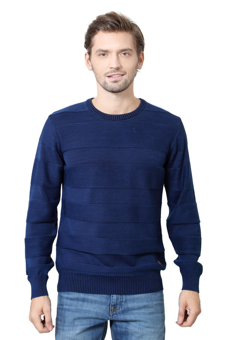 Louis Philippe Navy Sweater - 2640