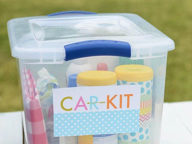 Le kit de survie pour les trajets en voiture