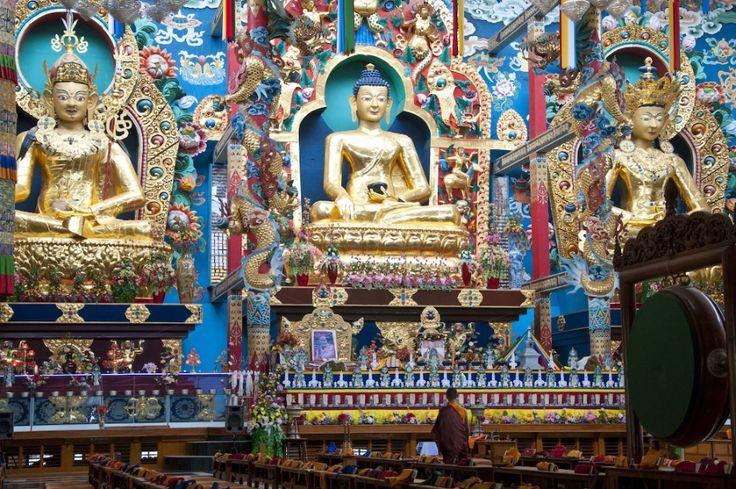 Screenshot Buddhist monastery Karnataka India jigsaw