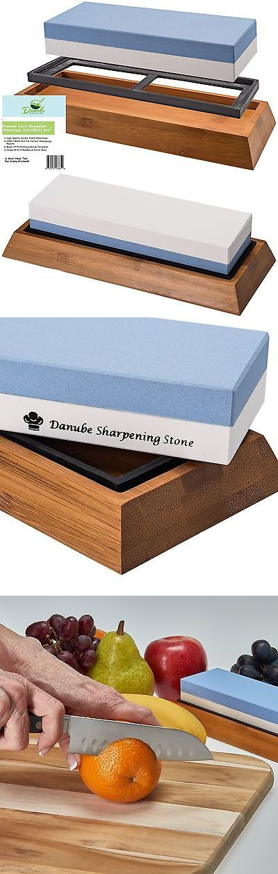 Sharpeners 116005: Premium Knife Sharpening Stone Double Sided 3000 8000 Grit Whetstone... No Tax -> BUY IT NOW ONLY: $34.14 on eBay!