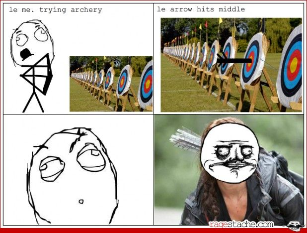 Pretty sure id do the same thing if i ever hit a bullseye
