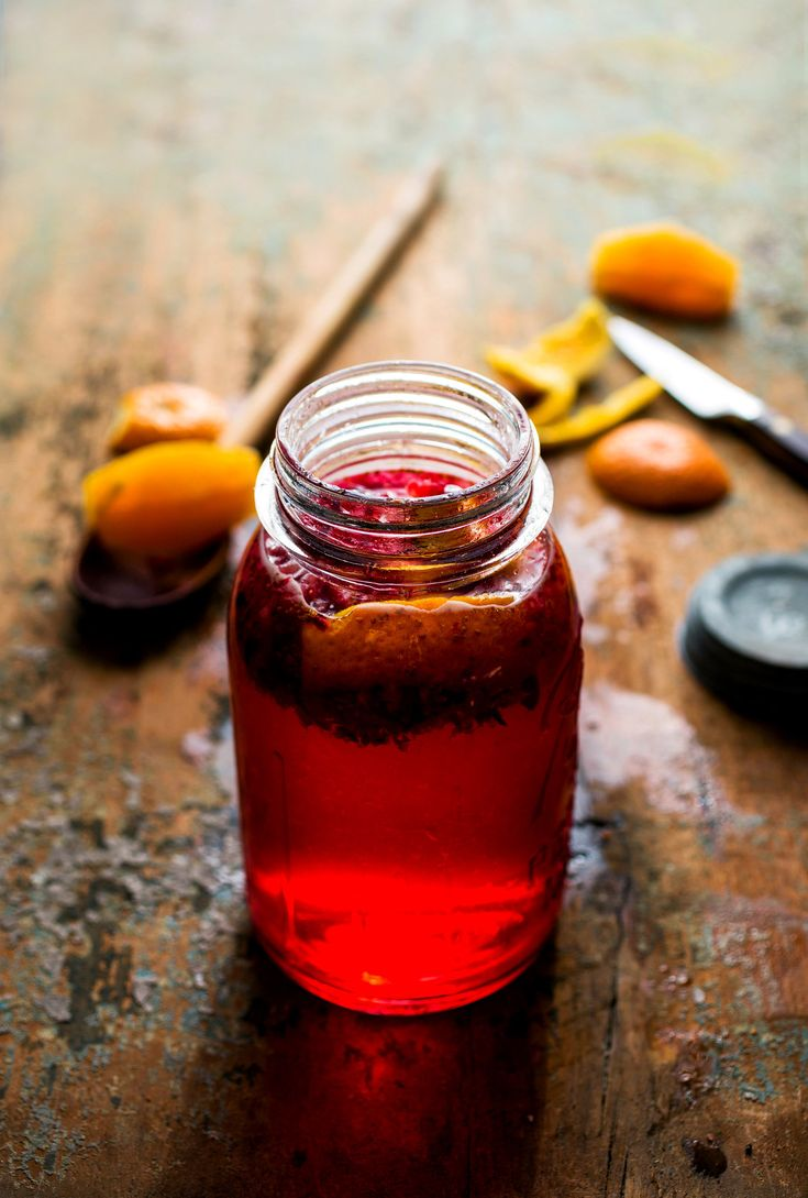 Scarlet-hued, with just enough sugar to offset the tartness of the berries, this vodka-based spirit submitted by Corey Balazowich was a resounding success It's also a good place to use up cranberries left over from Thanksgiving.