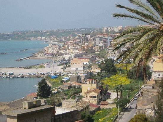 Sciacca, Sicily where my family immigrated to the U.S. from.