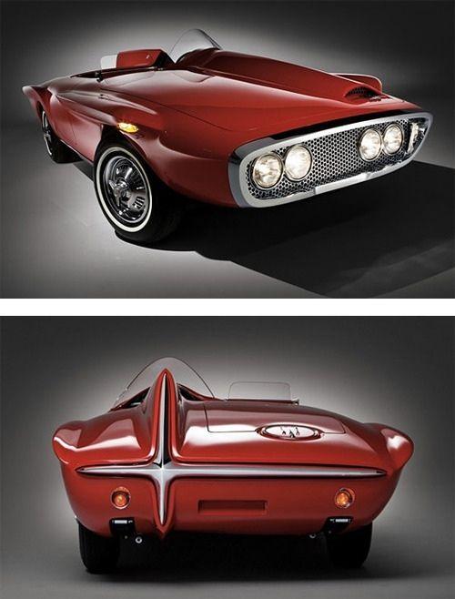 Futuristic 1960s vintage concept car | Vintageholic