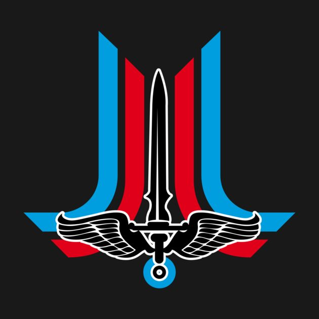 The #LastStarfighter logo from '80 movies  Check out this awesome 'Starfighter' design on TeePublic! http://bit.ly/1qg78ln