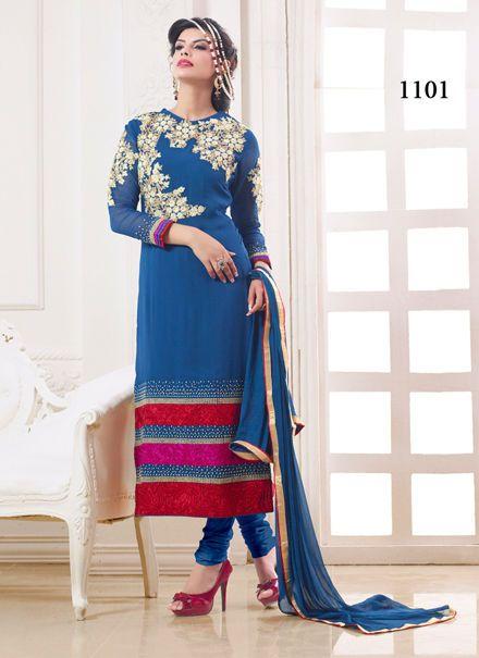 Bollywood Indian Wedding Kameez Anarkali Ethnic Pakistani Party Designer Salwar…