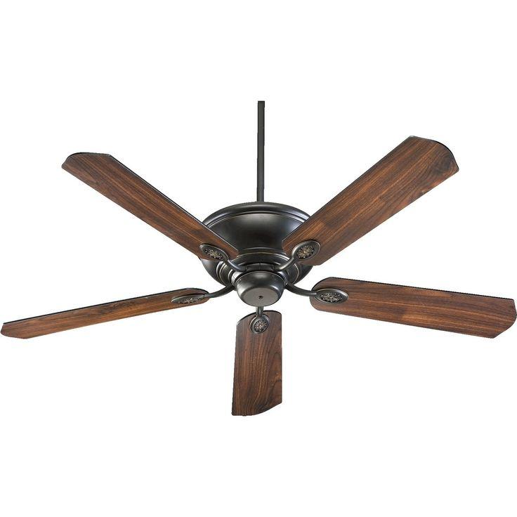 International Kingsley 60 Transitional Ceiling Fan (old world bronze) (Wood)