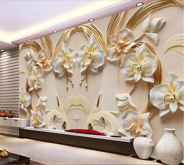 Pintura con relieve para pared