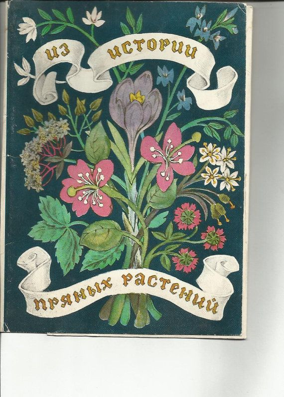 From history of spice plants  Vintage Russian by LucyMarket