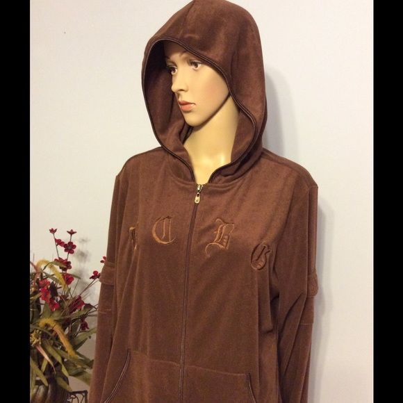 """⚡️BCBGMAXAZRIA Jacket Chocolate brown.....Like new jacket.  Polyester/cotton.  Across bust 28""""....shoulder to hem 26"""". No flaws, stains or issues. The back is plain. BCBGMaxAzria Jackets & Coats"""