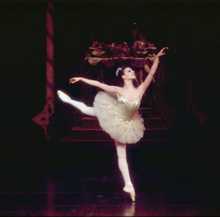 "Gelsey Kirkland as the Sugar Plum Fairy, in a New York City Ballet production of ""The Nutcracker."" (New York)"