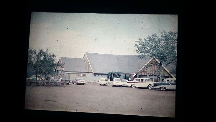 We were looking through my grandad's old photos tonight. My dad was a young boy of around the age of 10 in early 1960's. Some pics of their holiday that year ... also a love story in the making between the Kruger and our family.olifants camp