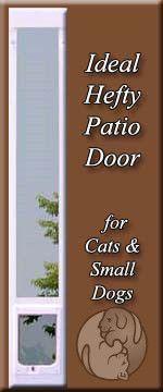 The Ideal Hefty Pet Patio Pet Door Insert Features Single Paned Glass, An  Aluminum Frame