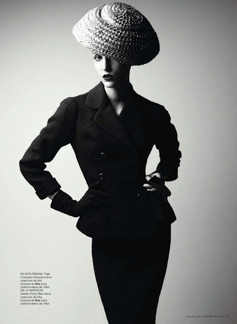 """- """"HATS"""" -   - Dior Courture Winter 1954 -   - REPINED FROM MODS OF FLORENCE IN PORTLAND, OR -"""