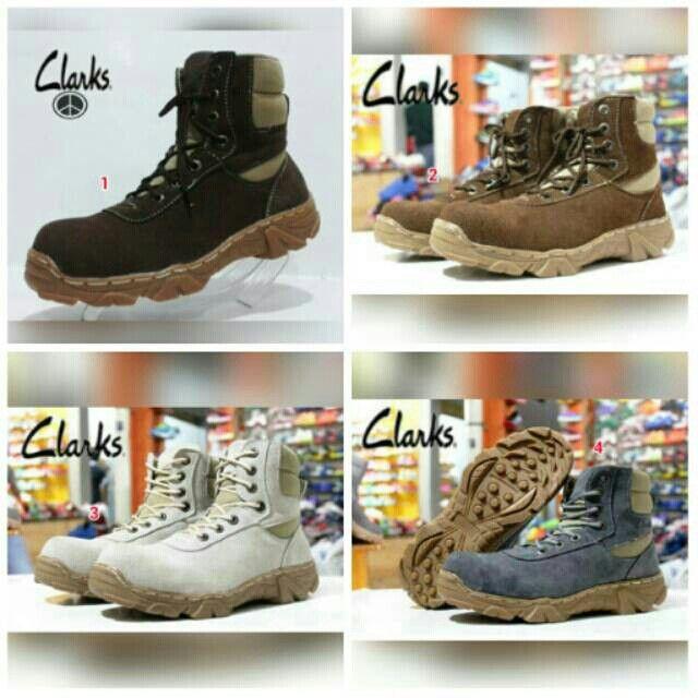 Saya menjual Sepatu CLARKS Boots Safety Pria Murah Kerja Santai Kampus Kuliah Jalan Formal Kantor Outdoor seharga Rp279.000. Pin:331E1C6F  WA/SMS: 085317847777 LINE: Sepatu Aneka Model www.butikfashionmurah.com Dapatkan produk ini hanya di Shopee! https://shopee.co.id/sepatu_dan_jam_tangan/15098616 #ShopeeID