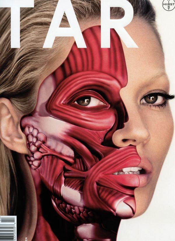 Damien Hirst - Kate Moss Anatomy