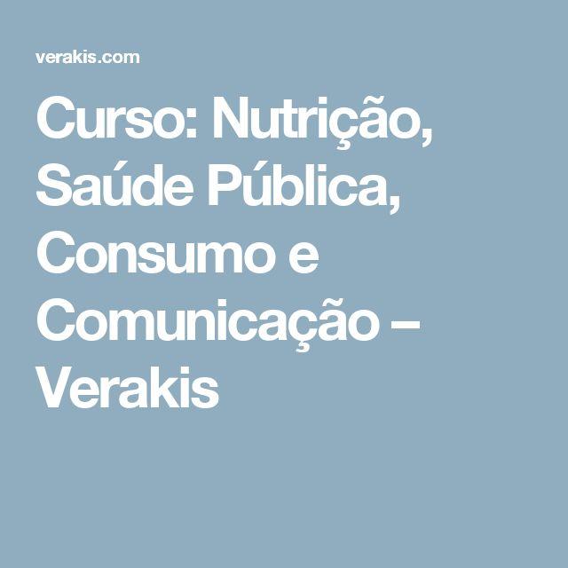 [EN]: Instructor; [PT]: Formadora 2017: Curso de Nutrição, Saúde Pública, Consumo e Comunicação – Verakis