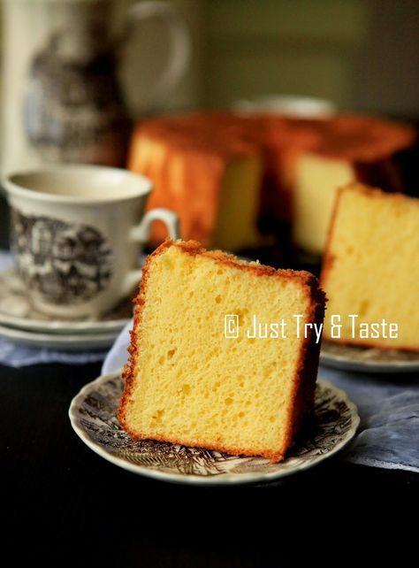 Cream Cheese Chiffon Cake | Just Try & Taste