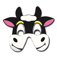 Happy Cow Childrens Foam Animal Mask | Simply Party Supplies