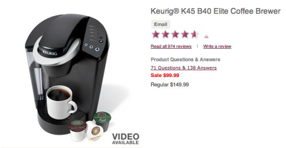 Keurig Brewer only $69.99 (Reg 149.99) + FREE Shipping!  Kohls Black Friday Deals! - http://www.stacyssavings.com/keurig-brewer-69-99-reg-149-99-free-shipping-kohls-black-friday-deals/